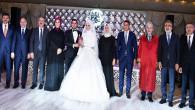Ankara'daki siyasiler Coşkun'un kızının düğününde buluştu