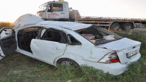 Genç kız sınava giderken kazada hayatını kaybetti