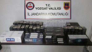 Jandarma 567 paket kaçak sigara ele geçirdi