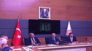 AK Parti İl Teşkilatından Bozdağ'a hayırlı olsun ziyareti
