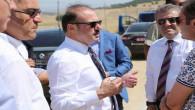 Vali Yurtnaç, Belekcehan yolunda incelemelerde bulundu
