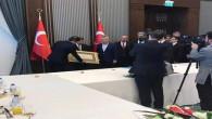 İl, ilçe ve belde başkanlarından Oktay'a hayırlı olsun ziyareti
