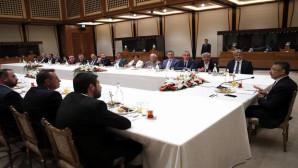 AK Parti İl Teşkilatından Oktay'a hayırlı olsun ziyareti