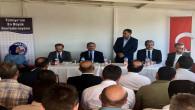 Bozdağ'dan Memursen Yozgat Şube Başkanı Şerefli'ye ziyaret