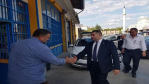 Milletvekili Sedef, ilçe ziyaretlerini sürdürüyor