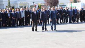 Yozgat'ta 19 Eylül Gaziler Günü düzenlenen törenle kutlandı.