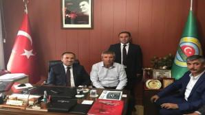 Bozdağ'dan Yerköy Ziraat Odasına ziyaret