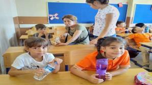Minik öğrenciler oryantasyon eğitimine başladı