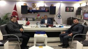 ÇEDAŞ Genel Müdürü Kıvılcım'dan Şefaatli Belediye Başkanı'na ziyaret