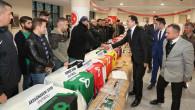Amatör Spor kulüplerine malzeme dağıtımı yapıldı