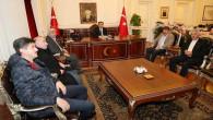 Yozgat Ticaret Borsasından Vali Çakır'a hayırlı olsun ziyareti