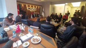 Belediye Başkan Adayı Köse'den MÜSİAD'a ziyaret