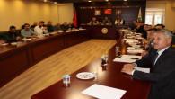 MHP'li üyelerden Başkan'a jest
