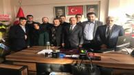 SMMMO'dan AK Parti Merkez İlçe Başkanı Kılaç'a ziyaret