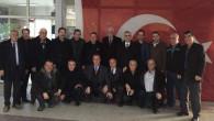 Erdemir'den Muhtarlar Derneği'ne ziyaret