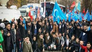 Ankara'daki Doğu Türkistan Mitingine Yozgat Alperen Ocaklarından destek