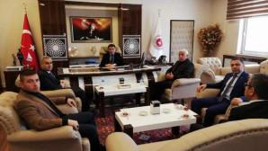 Erdemir'den Başsavcı Hasan Uçak'a ziyaret