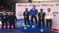 Kayseri Şekerli Milli Güreşçi Türkiye Şampiyonu oldu
