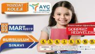 AYÇ okullarında bursluluk sınavı 2-3 Mart tarihlerinde yapılacak