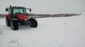 Yozgat'ta kar yağışı bölge çiftçisini sevindirdi