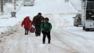 Yozgat İl ve İlçelerde okullar tatil edildi