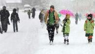 Kar yağışı sebebiyle Çayıralan ilçesinde okullar tatil edildi
