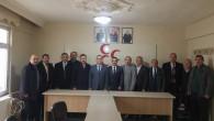 Şefaatli Belediye Başkan aday adayı Karacadan Başkan Altan'a ziyaret