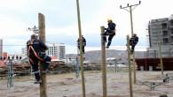 ÇEDAŞ çalışanları, sahaya eğitim parkurunda hazırlanıyor