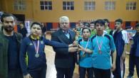 Genç sporcular madalya ile ödüllendirildi