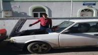 Akşam park ettiği otomobilinin aküsünü sabah çalınmış halde buldu