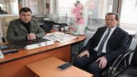 Vali Yardımcısı Çakır'dan gazetemize tebrik ziyareti