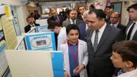 Vali Çakır, Bilim Fuarı açılışı yaptı
