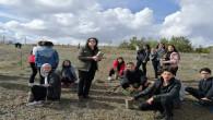 AYÇ Okulu öğrencileri hatıra ormanı oluşturdu