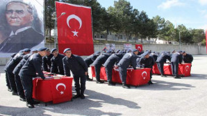 Yozgat'ta kısa dönem erler yemin etti.