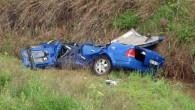 Polisler kaza yaptı: 2 ölü, 1 yaralı