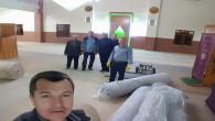 TOKİ Cami halıları yenilendi