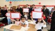 Yozgat'ta 75 bin 280 öğrenci karne aldı