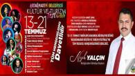 Akdağmadeni Belediyesi Kültür ve Turizm Festivali 13-21 Temmuz