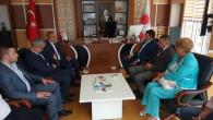 Milletvekili Sedef'ten Rektör Karadağ'a hayırlı olsun ziyareti