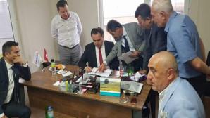Vali Çakır, Sorgun'da 67 Bin Tonluk hububat alım Silosunda incelemelerde bulundu