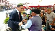 Vali Çakır'a vatandaşlardan sevgi seli