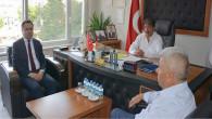 Vali Çakır'dan Borsa Başkanı Erkekli'ye ziyaret
