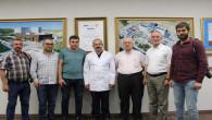 Yozgat Gazeteciler Cemiyetinden Başhekim Akkurt'a ziyaret