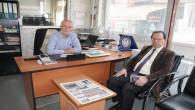 Vali Vekili Çakır'dan gazetemize ziyaret