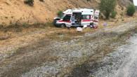 Hasta taşıyan ambulans kaza yaptı: 1'i bebek 4 kişi yaralandı