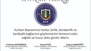 Avrupa Yozgatlılar Federasyonu hemşerilerinin bayramını kutladı