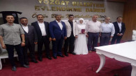 BBP İl Başkanı Korkmaz'ı, kızının nikahında dostları yalnız bırakmadı