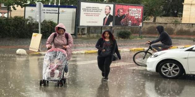 Yozgat'ta sağanak yağış etkisini sürdürüyor