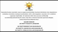 AK Parti İl Başkanı Dursun ve parti teşkilatı Yozgat halkının bayramını kutladı