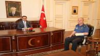 Emniyet Müdürü Çengeloğlu'ndan Vali Çakır'a veda ziyareti